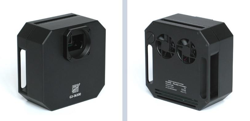 Moravian CCD G3-11000 Mono da 11 Mpx (4032 x 2688) con ruota portafiltri da 5 posizioni per filtri da 50,8mm - Classe 2