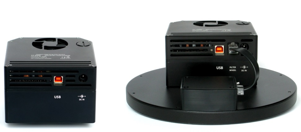 Ruota portafiltri per camere CCD Moravian G2 - 12 posizioni per filtri da 31,8mm montati in cella e non montati in cella da 31mm
