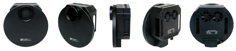 Ruota portafiltri per camere CCD Moravian G4 - 5 posizioni per filtri quadrati da 50x50mm non montati in cella