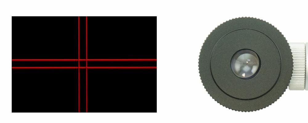 Oculare Plossl 12,5 mm con reticolo illuminato