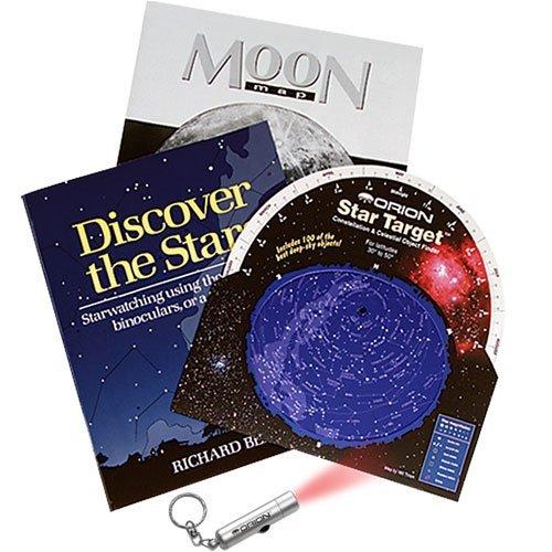 Utile kit per imparare le costellazioni, gli oggetti più belli edl profondo cielo e la Luna