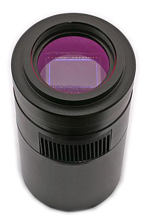 Camera CCD a colori QHY12 da 14Mpx, raffreddata a -45°