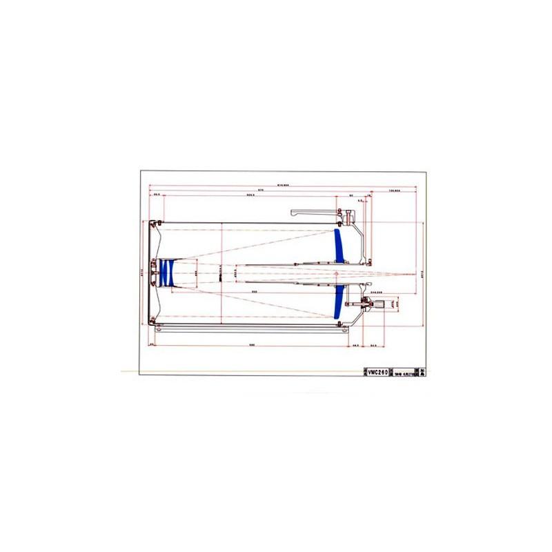 Riflettore catadiottrico Vixen VMC260L WT con slitta a coda di rondine tipo Losmandy e accessori