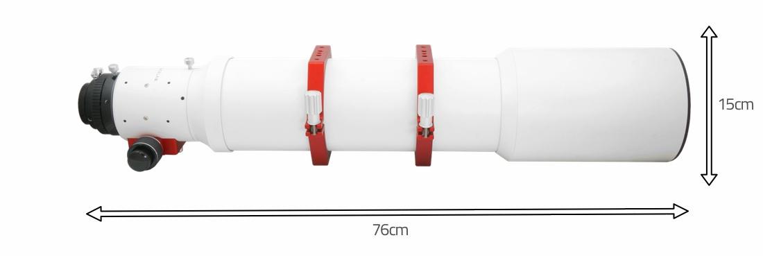 """Doppietto apocromatico PrimaLuceLab Airy Apo 120 in FPL-53 da 120mm e 900mm di focale, f/7,5 - focheggiatore 2,7"""""""