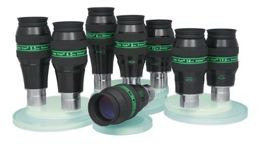 OculareDelos con barilotto da 31.8mm - campo apparente 72°- lunghezza focale 3,5mm