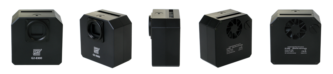 Camera Moravian CCD modello G2-1600FW da 1.6 Mpx (1536 x 1024)con ruota portafiltri da 5 posizioni per filtri da 31,8mm
