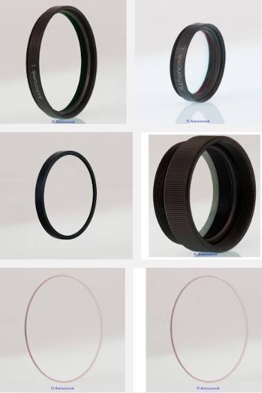 Filtro Astronomik Luminanza UV-IR Block, serie L-2 da 36mm non montato in cella - con anello di protezione