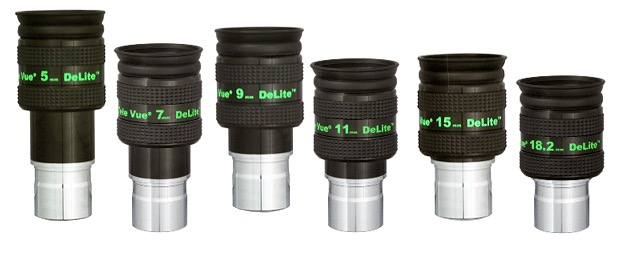 OculareDeLite con barilotto da 31.8mm - campo apparente 62°- lunghezza focale 9mm