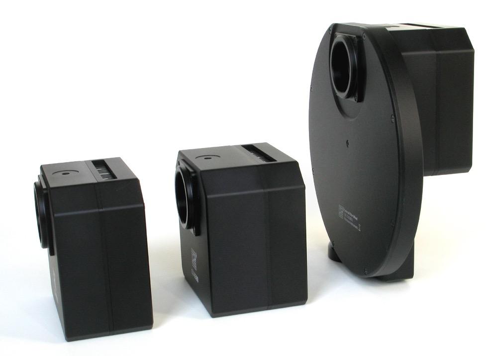 Camera Moravian CCD modello G2-2000FW da 2 Mpx (1600 x 1200)con ruota portafiltri da 5 posizioni per filtri da 31,8mm