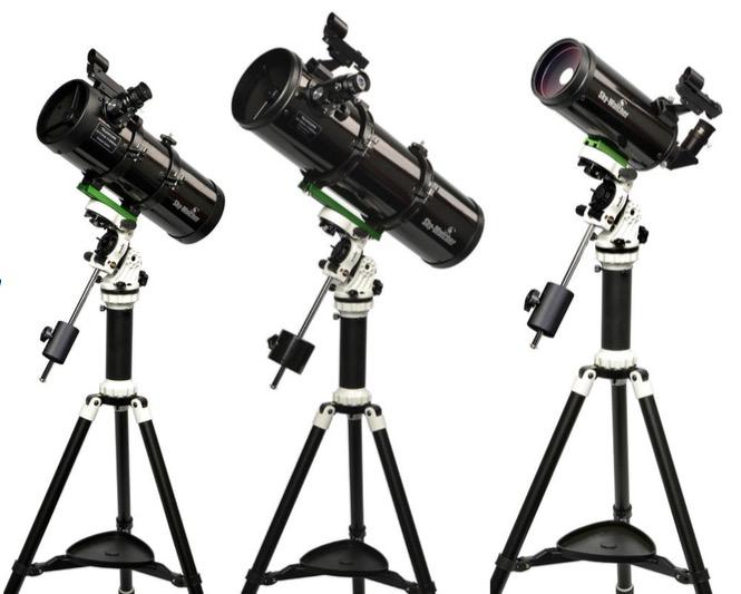 Telescopio riflettore Newton con diametro da 130mm, lunghezza focale di 650mm su montaturaAZ-EQ Avant