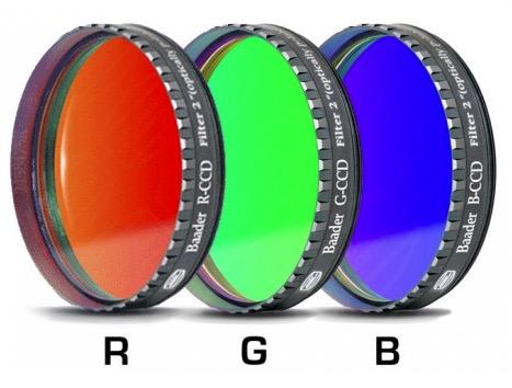 """Filtro R (Rosso) da 2"""" (50.8mm), per CCD, con cella a basso profilo"""