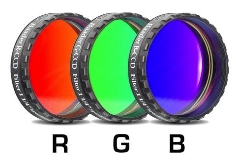 """Filtro B (Blu) da 1¼"""" (31.8mm), per CCD, con cella a basso profilo"""