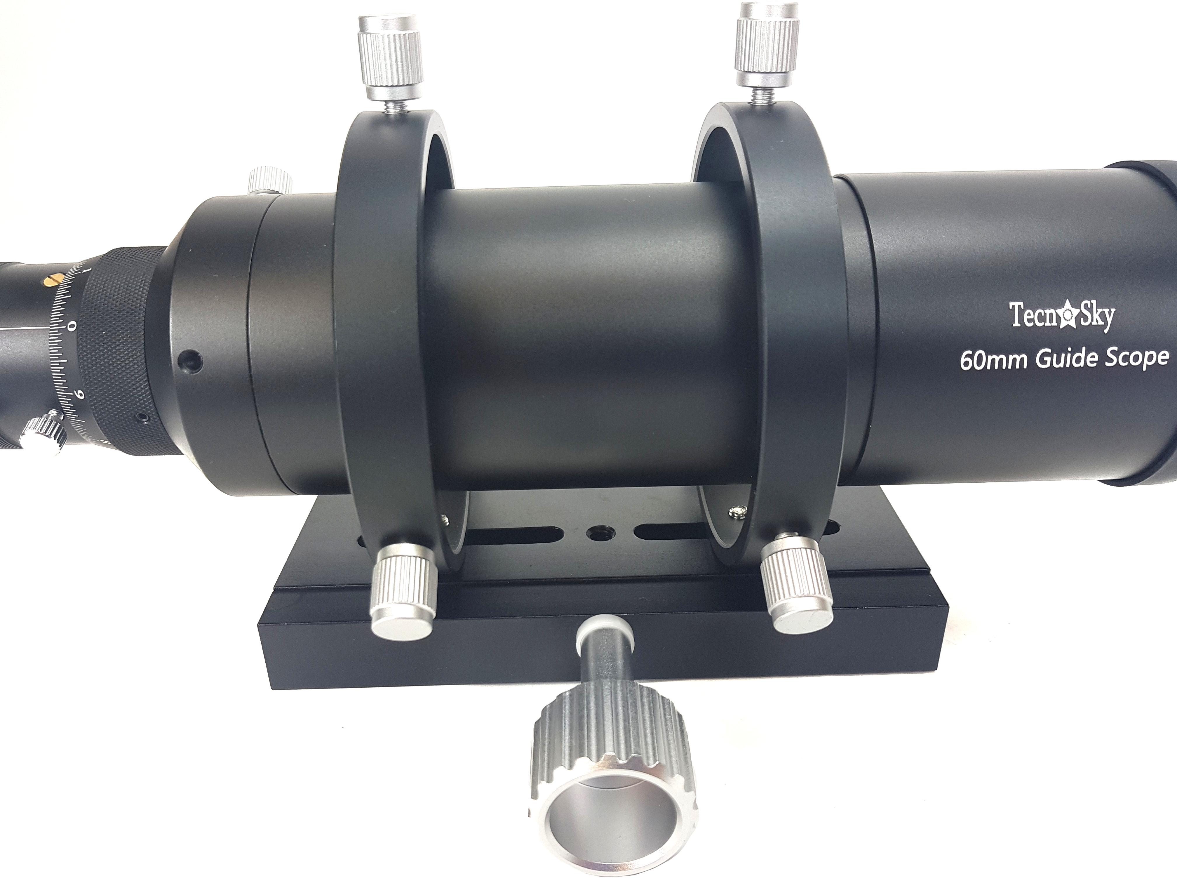 Telescopio guida SharpGuide 60 completo di morsetto Vixen lungo
