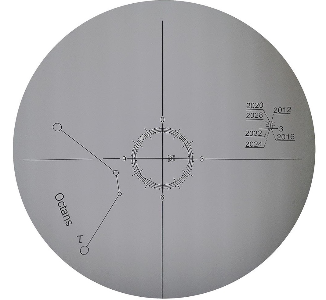Cannocchiale polare compatibile con la montatura AZ-EQ5