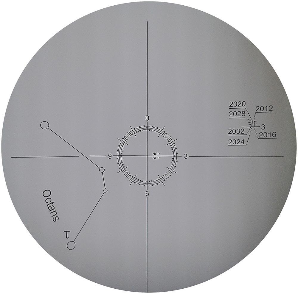 Cannocchiale polare compatibile con le montature EQ3 e HEQ5