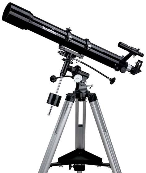 Telescopio Sky Watcher 70/900 completo di montatura Equatoriale Eq1