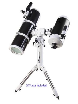 Setup Skywatcher AZ EQ 5 GT Synscan in modalità altazimutale con due tubi ottici / OTA installati