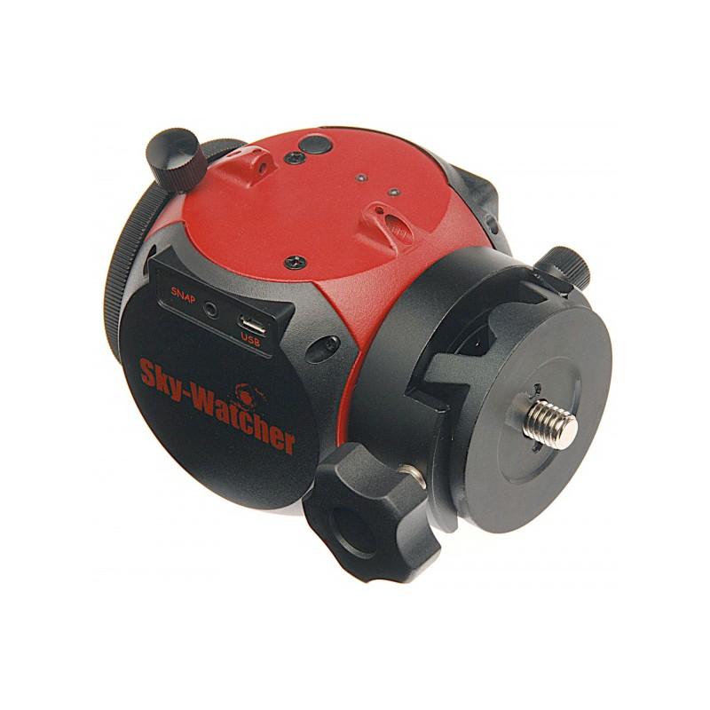 Testa Mini Staradventurer con cannocchiale polare illuminato e adattatore per teste a sfera