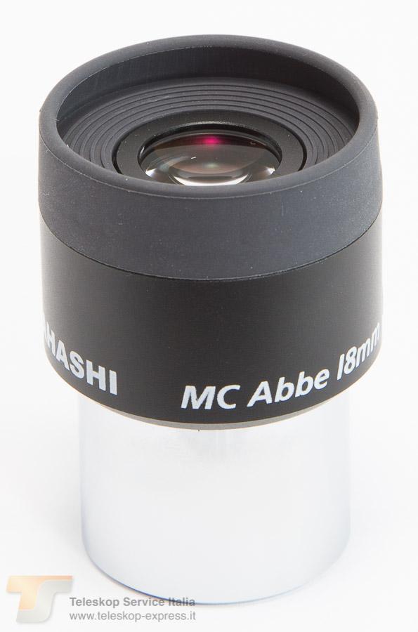 oculare ortoscopico MC Abbe Ortho Takahashi - 18mm - estrazione pupillare 15mm - campo apparente 44°