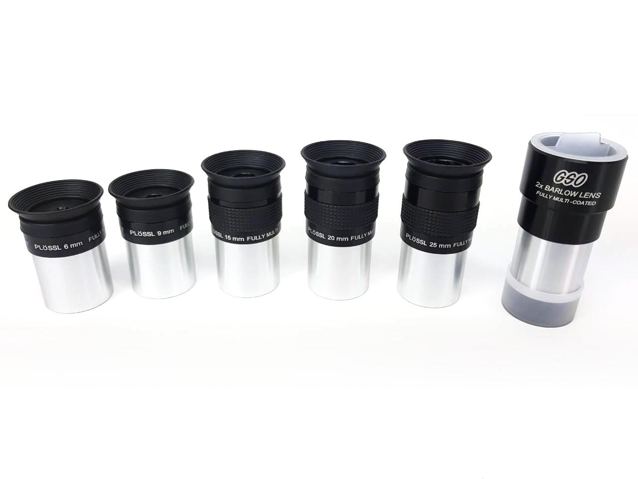 "Oculare tecnosky Super Plossl da 25mm - 1.25"" - 52° FOV - Fully Multi Coated"
