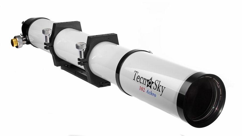 Rifrattore acromatico Tecnosky con diametro 102 e focale 1100mm f11