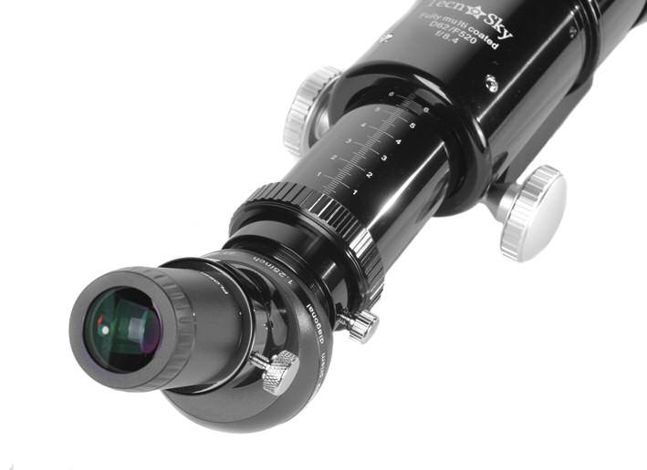 Rifrattore acromatico Tecnosky con diametro 62 e focale 520mm f8.4