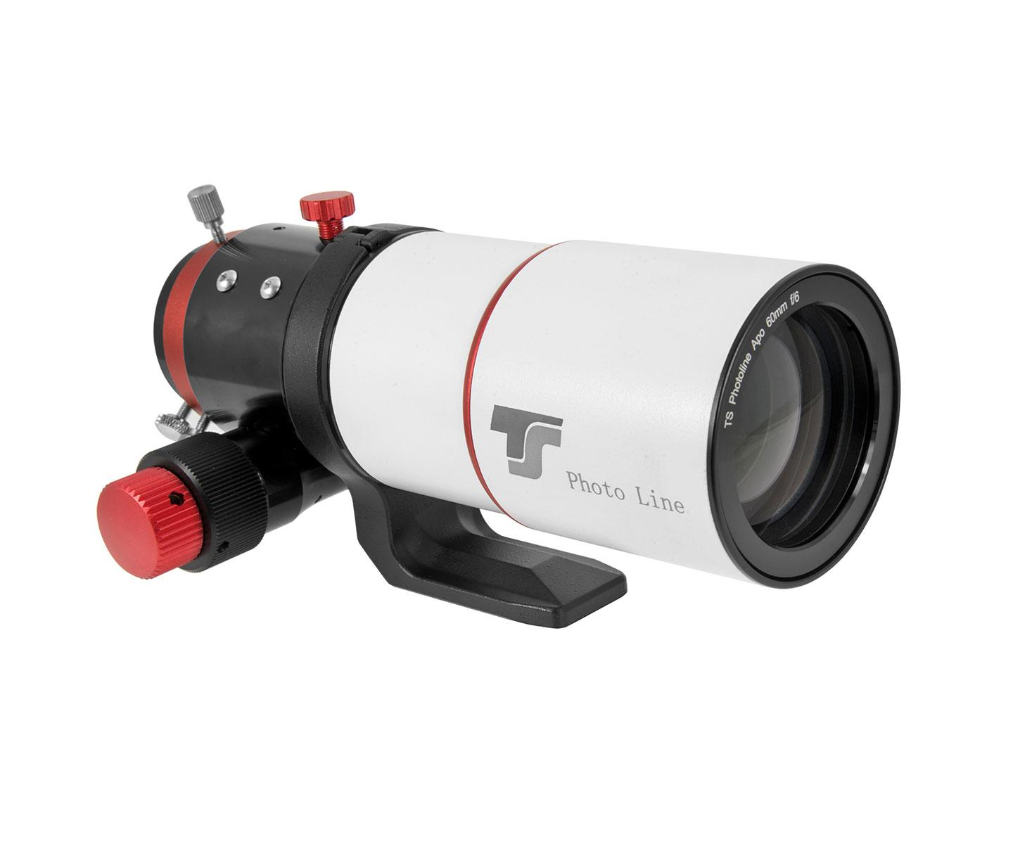 "TS-Optics PhotoLine 60mm f/6 FPL53 Apo - 2"" R&P Focuser - RED Line [EN]"