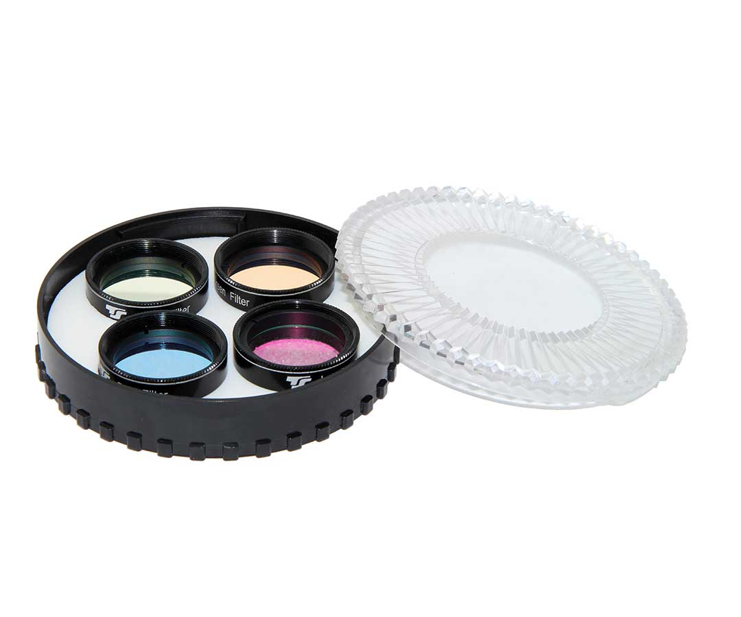 "TS-Optics Optics LRGB Filter Set 1,25"" - CCD Interference Filter Set [EN]"