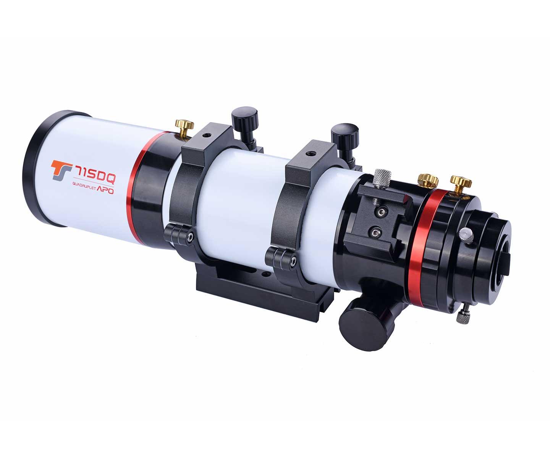 TS-Optics 71SDQ - 71 mm f/6.3 Quadruplet Apo with Field Flattening [EN]