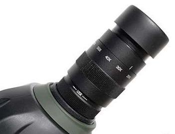 Il TS APO Spotting Scope Final 80 è uno strumento che garantisce un contrasto elevato, fedeltà cromatica ed un altissimo grado di nitidezza. Viene fornito con oculare zoom con barilotto da 31.8mm, e sviluppa ingrandimenti da 20X a 60X.