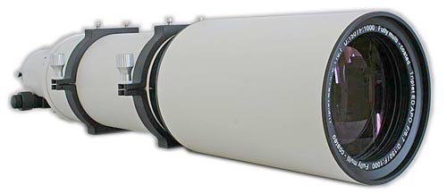 Tripletto APO FPL-53 TS Optics 150/1000mm f/6.67 con focheggiatore Linear Power da 3""