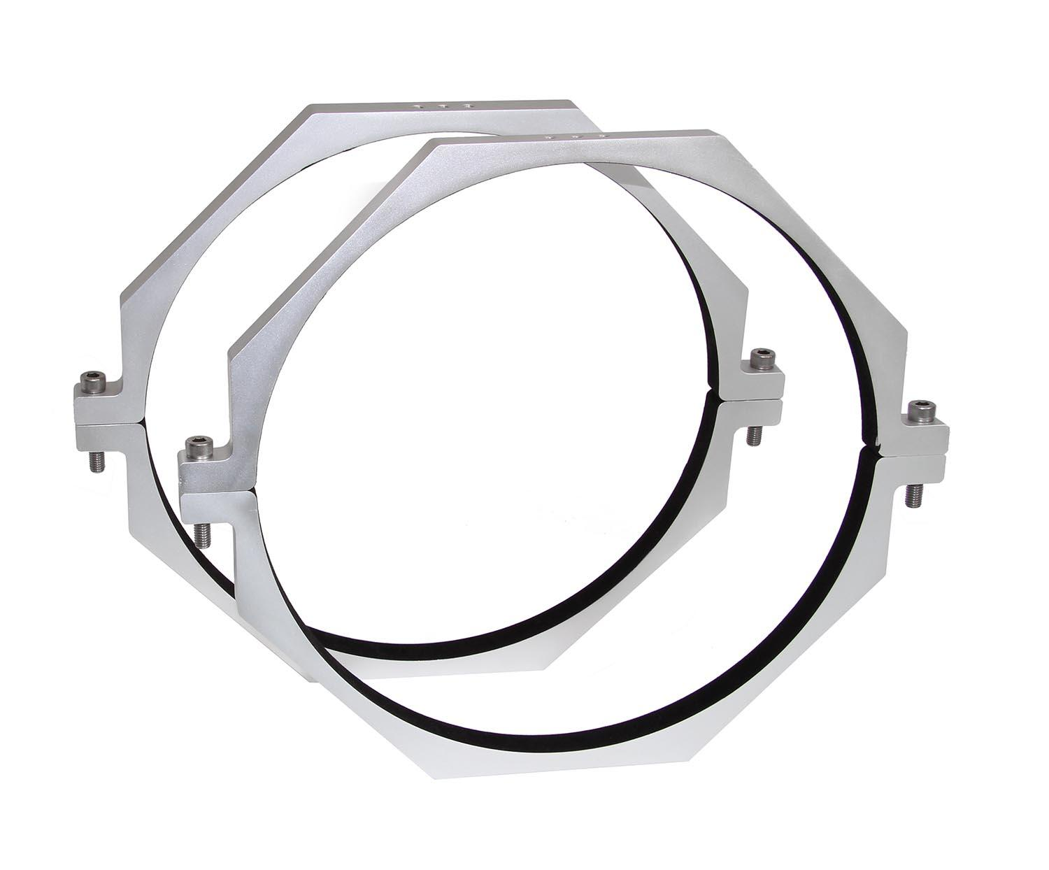 TS-Optics CNC Aluminium Tube Rings for telescopes with 412 mm diameter [EN]