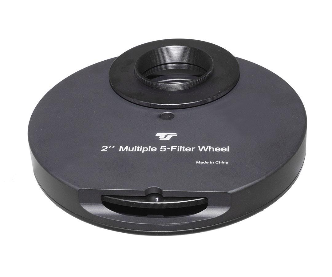 "TS-Optics manual Filter Wheel for 5x 2"" filters [EN]"