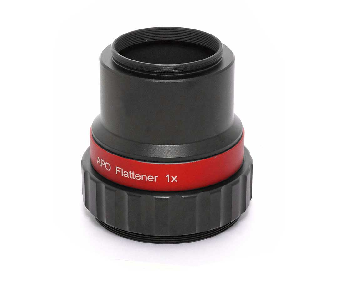 TS-Optics PHOTOLINE 1.0x APO Full Frame Size Flattener with M68 connector [EN]
