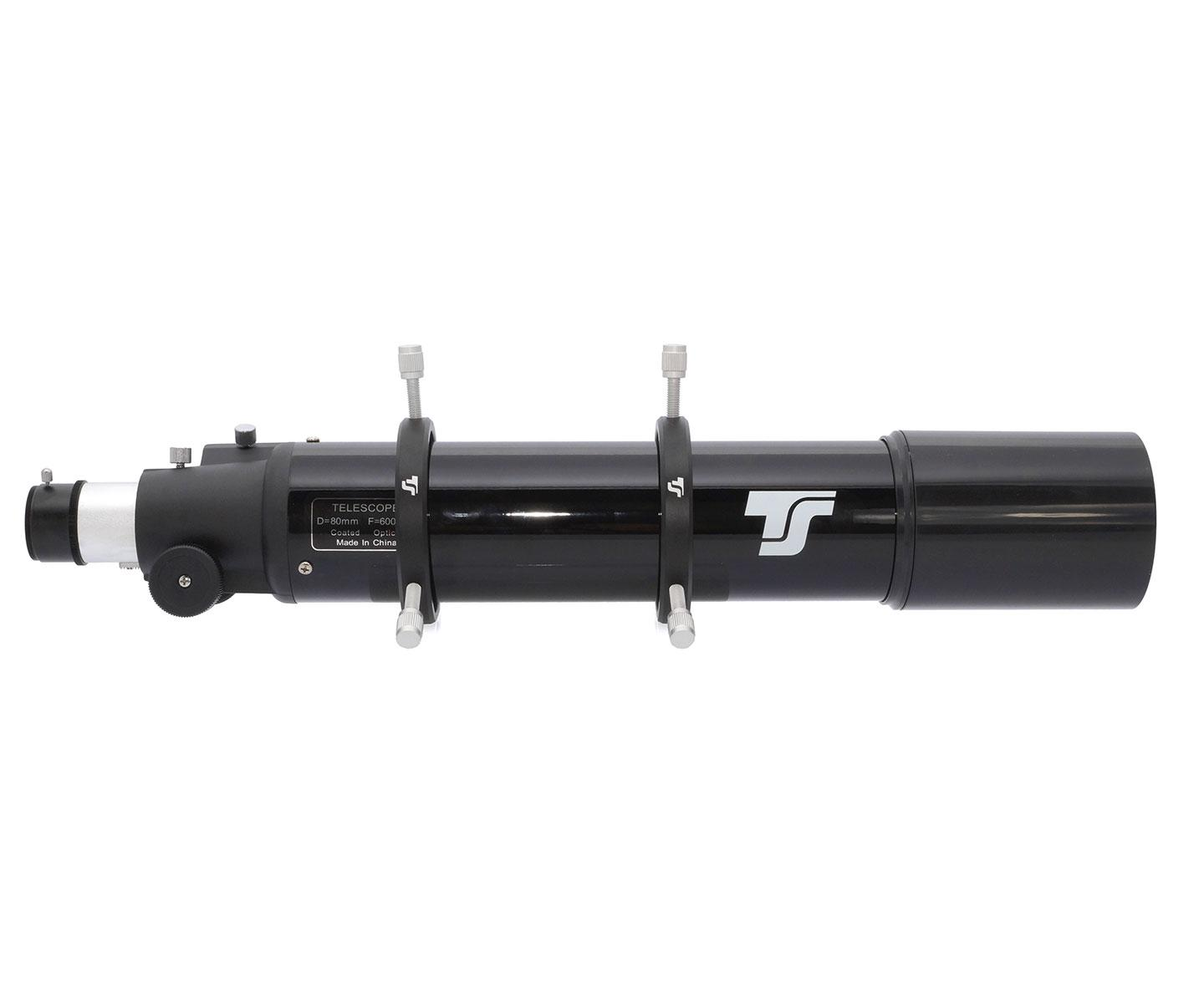 TS-Optics Guiding Scope 80/400 mm with adjustable tube rings [EN]