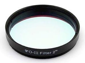 Filtro Premium TS O-III da 50,8mm - maggior contrasto nelle nebulose