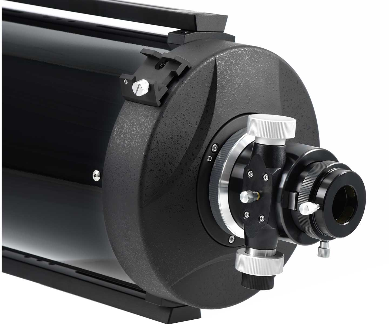 Astrografo Ritchey-Chretien TS 203mm F/8 con intubazione in metallo di colore nero