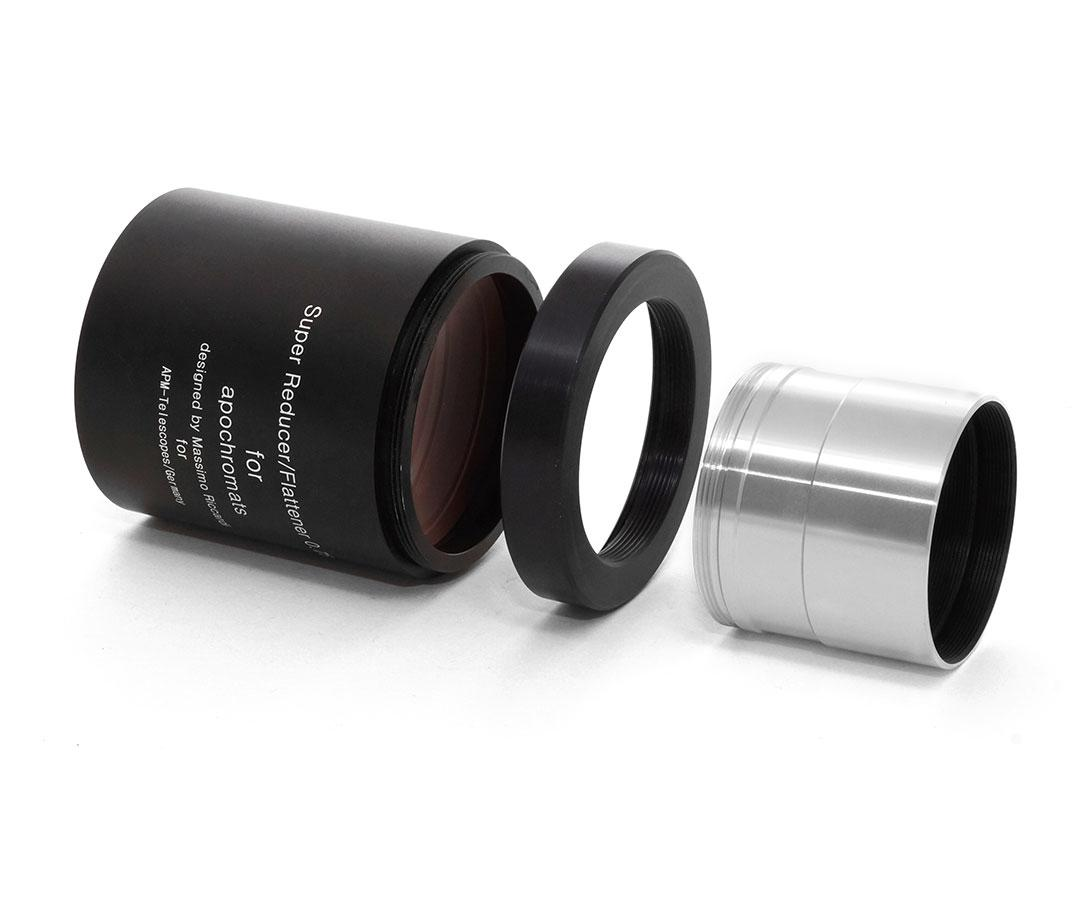 """TS-Optics Connection Adapter to 2"""" SC thread for M63x1 - Riccardi Reducer [EN]"""