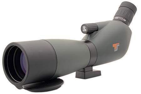 Spotting Scope Zoom 20-60x60 - 45°- messa a fuoco precisa, multi-coated, copertura Straylight