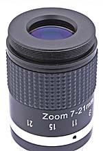 "TS-Optics Optics 7-21mm Zoom Eyepiece - 1,25"" multi coated for Telescopes [EN]"