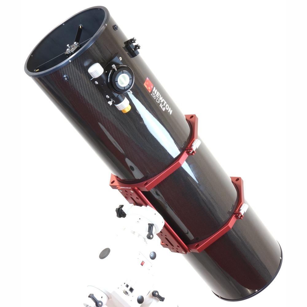 Newton in fibra di carbonio da 250mm f/4.8 e ottiche 1/10 lambda Orion UK