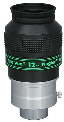 Oculare Nagler con doppio barilotto da 31.8mm e 50,8mm - campo apparente 82°- lunghezza focale 12mm - Type 4