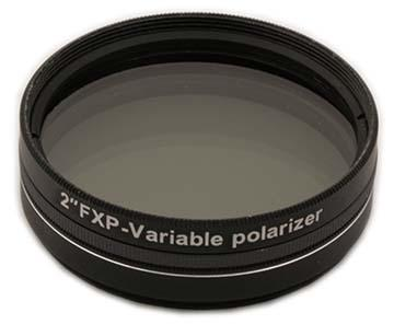 "Orion Variable polarizing filter 2"" - transmission range 1% through 40% [EN]"