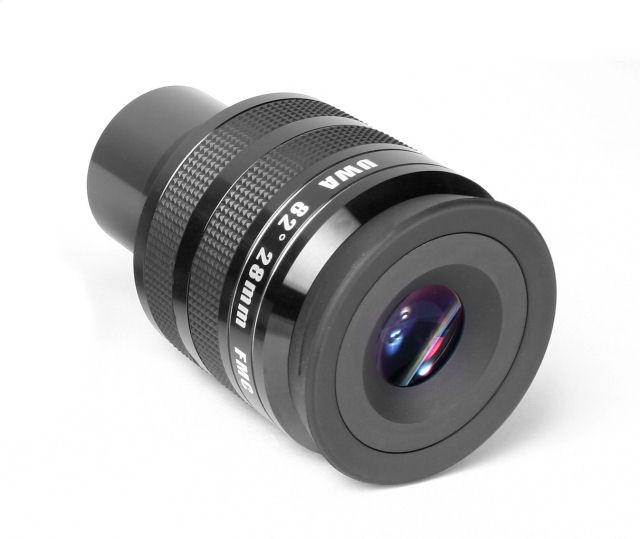 Oculare Tecnosky UWA-82° da 28mm ad alte prestazioni