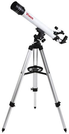 Telescopio Rifrattore Vixen da 70mm con montatura altazimutale con movimenti micrometrici