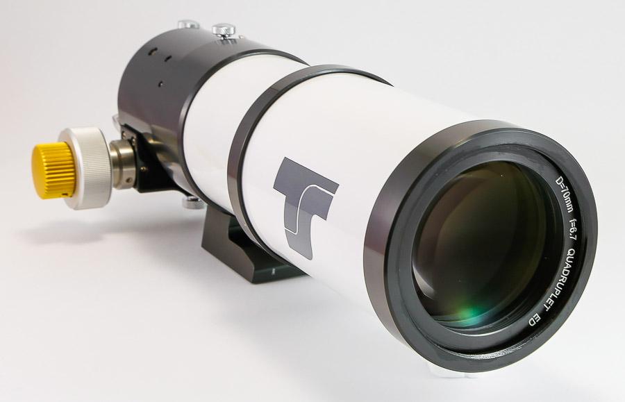 Quadrupletto ED TS da 70mm f/6.78 - campo piano - 474mm di focale