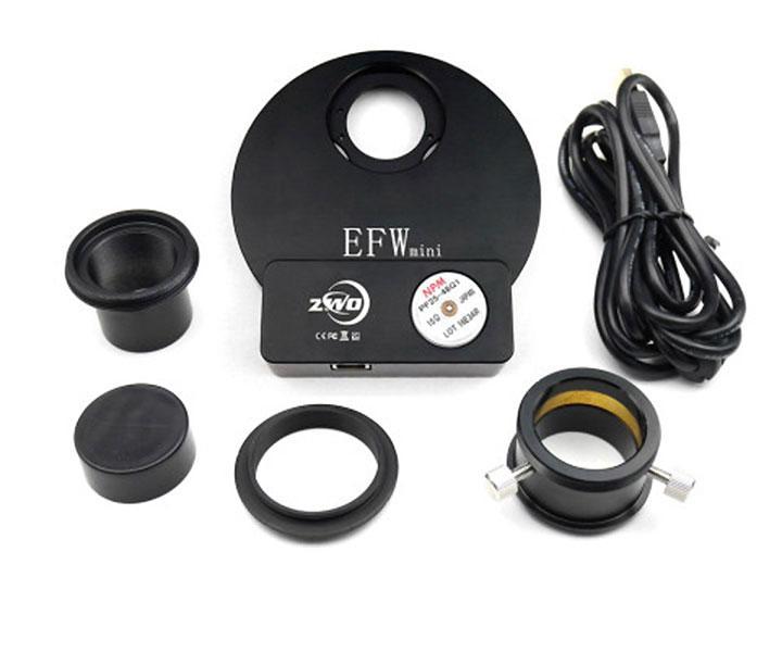 "ZWO motorised Filter Wheel for 5x 1.25"" or 5x 31 mm filters[EN]"