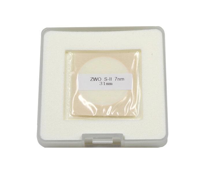 Filtro ZWO interferenziale banda stretta 7nm 31mm SII